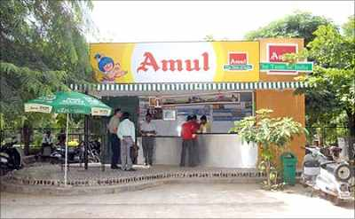 Amul spans across 75,000 kirana stores.