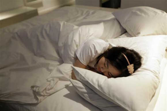 Sleeping for a living in five-star hotels