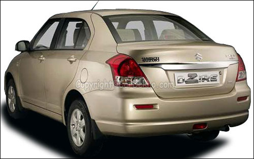 From April this year travel in Maruti Dzire taxis