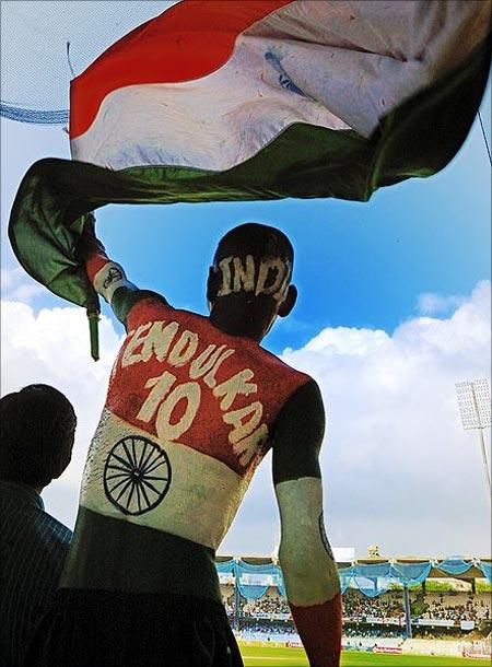 A Tendulkar fan.