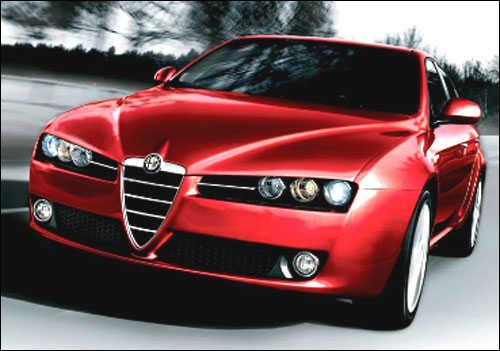 Alfa Romeo's Giulietta.
