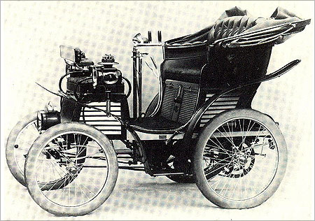 Fiat's first car.