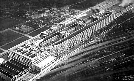 Lingotto factory.