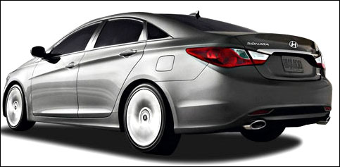 The stunning 2012 Hyundai Sonata at Rs 18.5 lakh