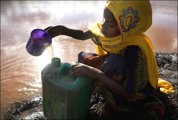 Thirst for water: Images from around the world