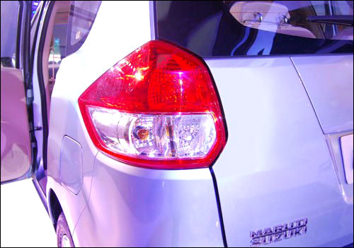 Maruti Ertiga tail light.