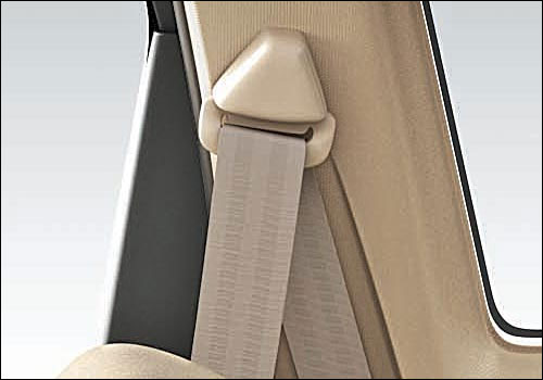 Maruti Ertiga seat belt.