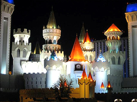 Excalibur Hotel and Casino.