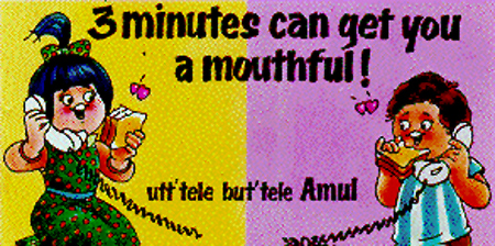 Punchy, witty world of Amul advertisements