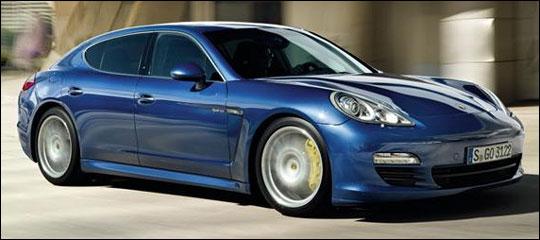 2012 Porsche Panamera.