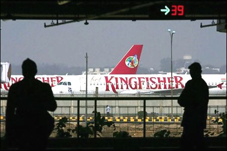 Kingfisher suspends operations in several cities
