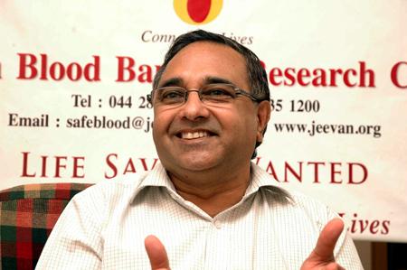 Dr P Srinivasan.