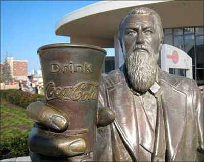 John Pemberton at New World of Coca-Cola, Atlanta