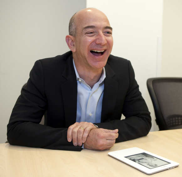 Bezos often showed intense scientific interests.