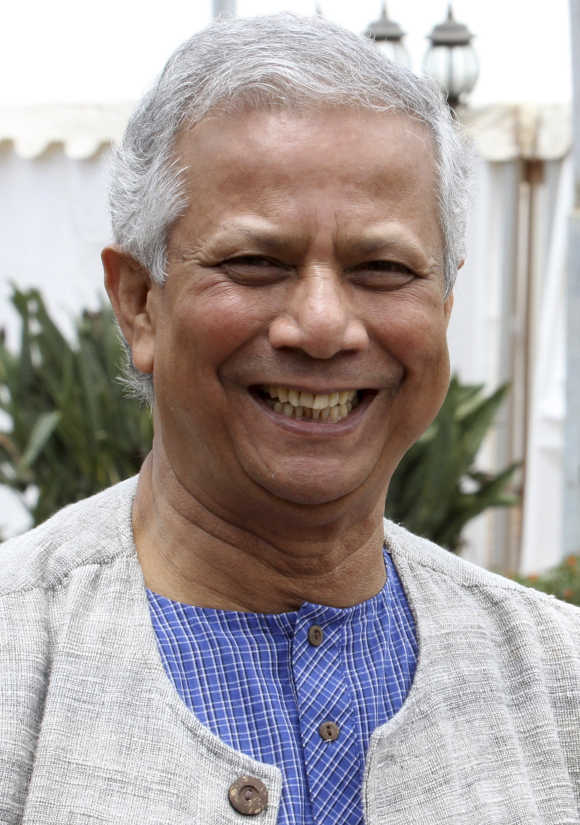 Muhammad Yunus.