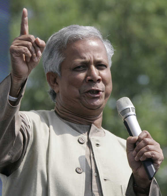 In 2006 Yunus and Grameen received the Nobel Peace Prize.