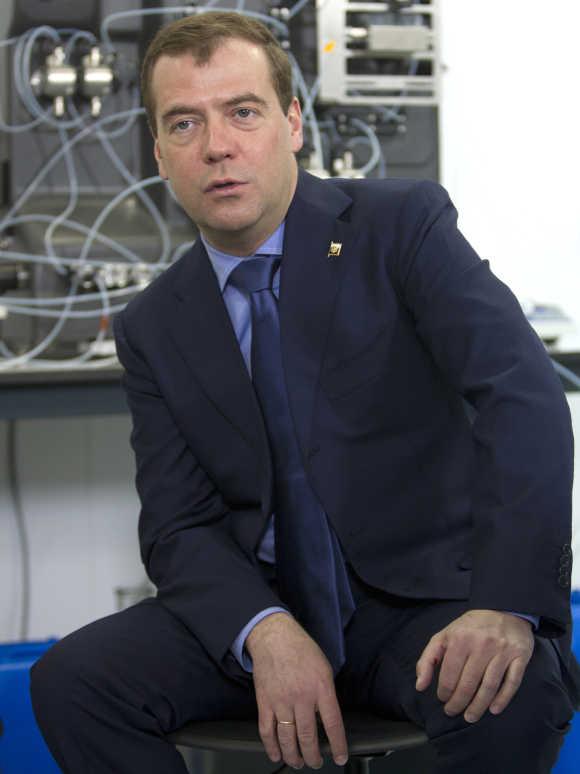 Russia's President Dmitry Medvedev.