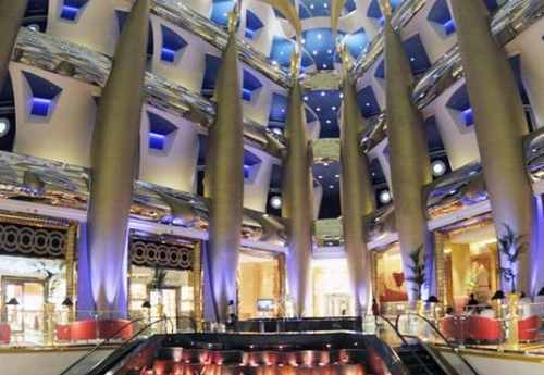 Inside Burj Al-Arab - The world's most luxurious hotel