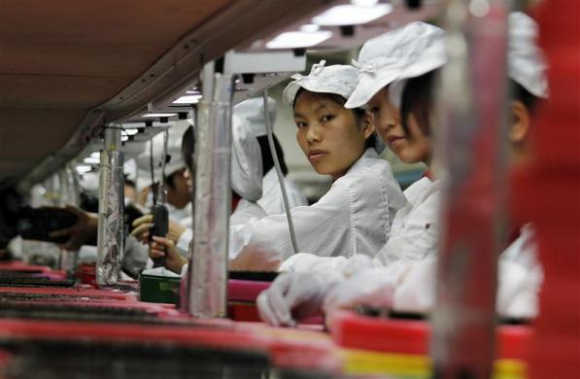 How workers toil at Foxconn, the human sweat-shop