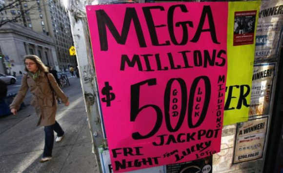 $500-million lottery fever grips US