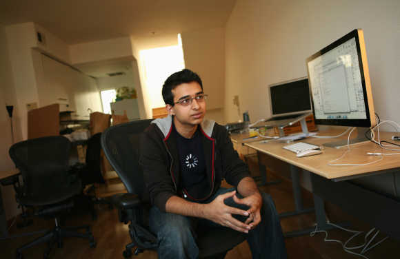 Young, vibrant and confident Sahil at this young age works around 80 hours a week.