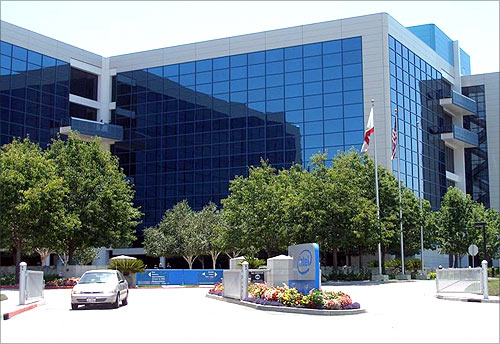 Intel Corporation headquarters.
