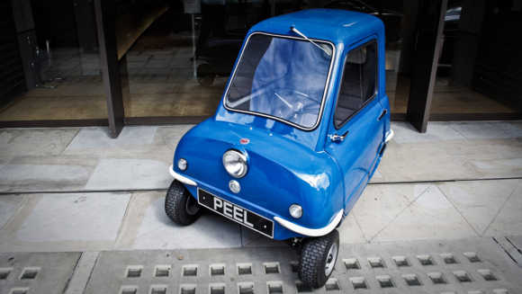 Amazing photos of the SMALLEST car in the world