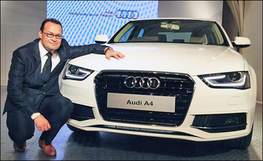 The new Audi A4 is priced at Rs 27.33 lakh