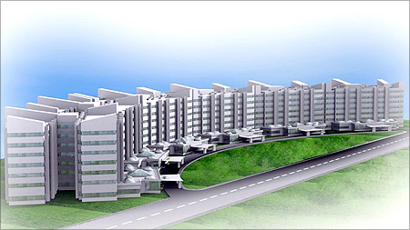 Proposed health city, Ahmedabad.