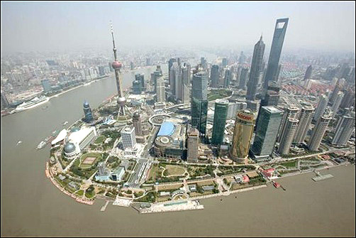 Shanghai World Financial Center.