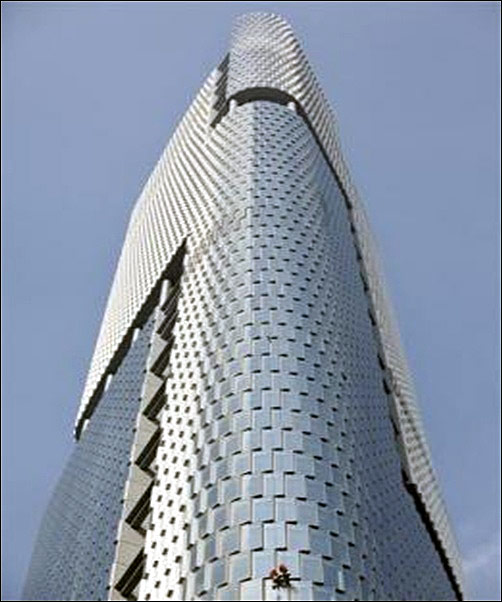 Nanjing Greenland Center.