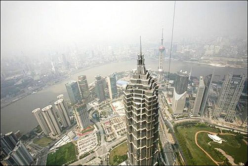 Jinmao Tower.