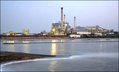 Tata Chemicals plant in Mithapur.