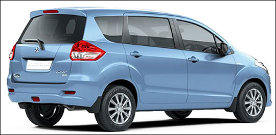 Maruti Ertiga and its 3 closest rivals