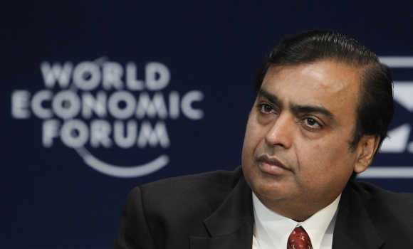Mukesh Ambani, Chairman, Reliance Industries.