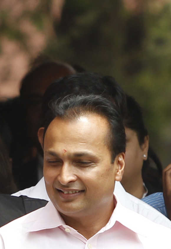 Anil Ambani, Chairman, Reliance Anil Dhirubhai Ambani Group.