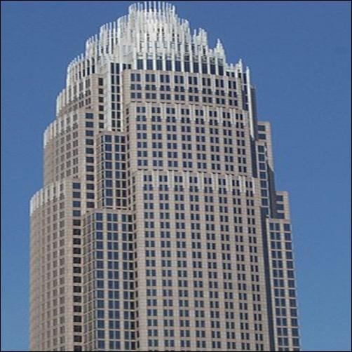 Bank of America Corporate Center.