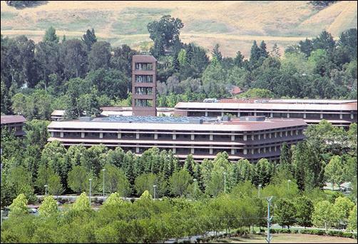 Chevron Corporation headquarters in San Ramon, California.