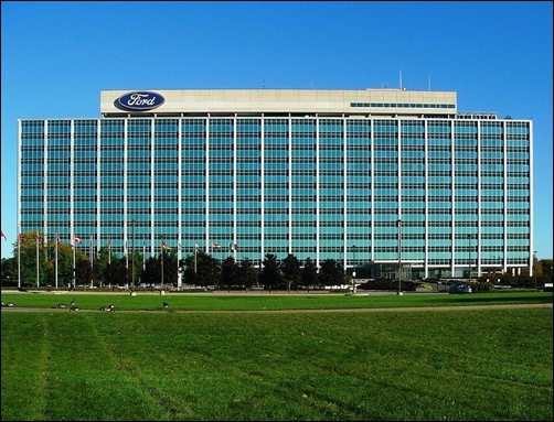 Ford Motor Company Headquarters.