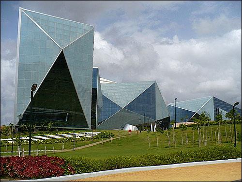 Infosys' Mysore campus.