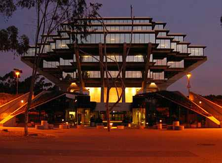 University of California, San Diego's Geisel Library
