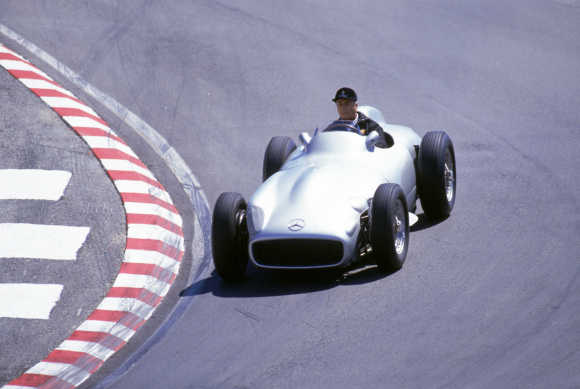 Historic and iconic images of Mercedes-Benz