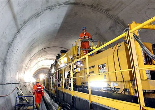 World's longest railway tunnel