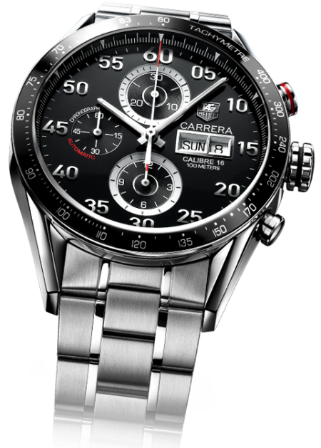 TAG Heuer Carrera Calibre 16 Monaco Grand Prix.