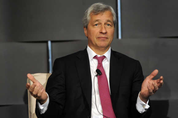 James Dimon, CEO, JPMorgan Chase.