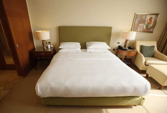 A view of a hotel room. Photo is for representation purpose only.
