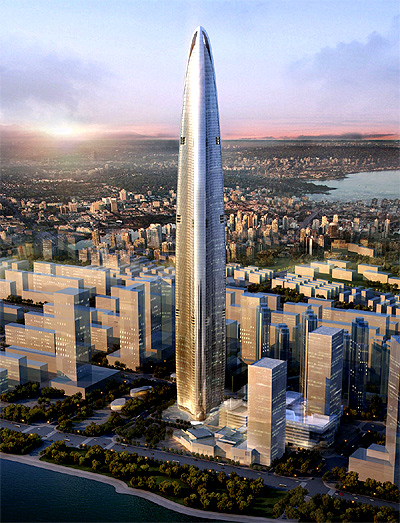 Wuhan Greenland Centre.