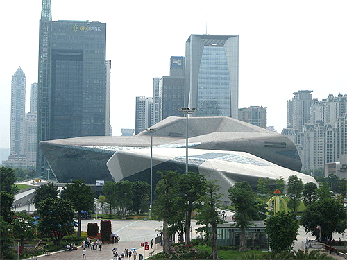 Guangzhou Opera House.