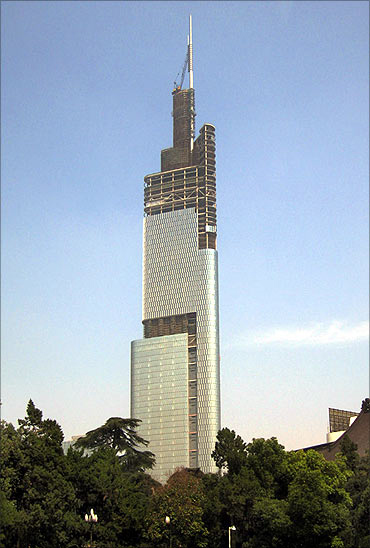 Nanjing Greenland Financial Centre.