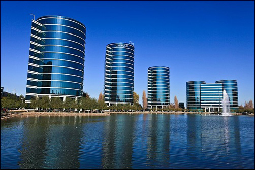Oracle headquarters.